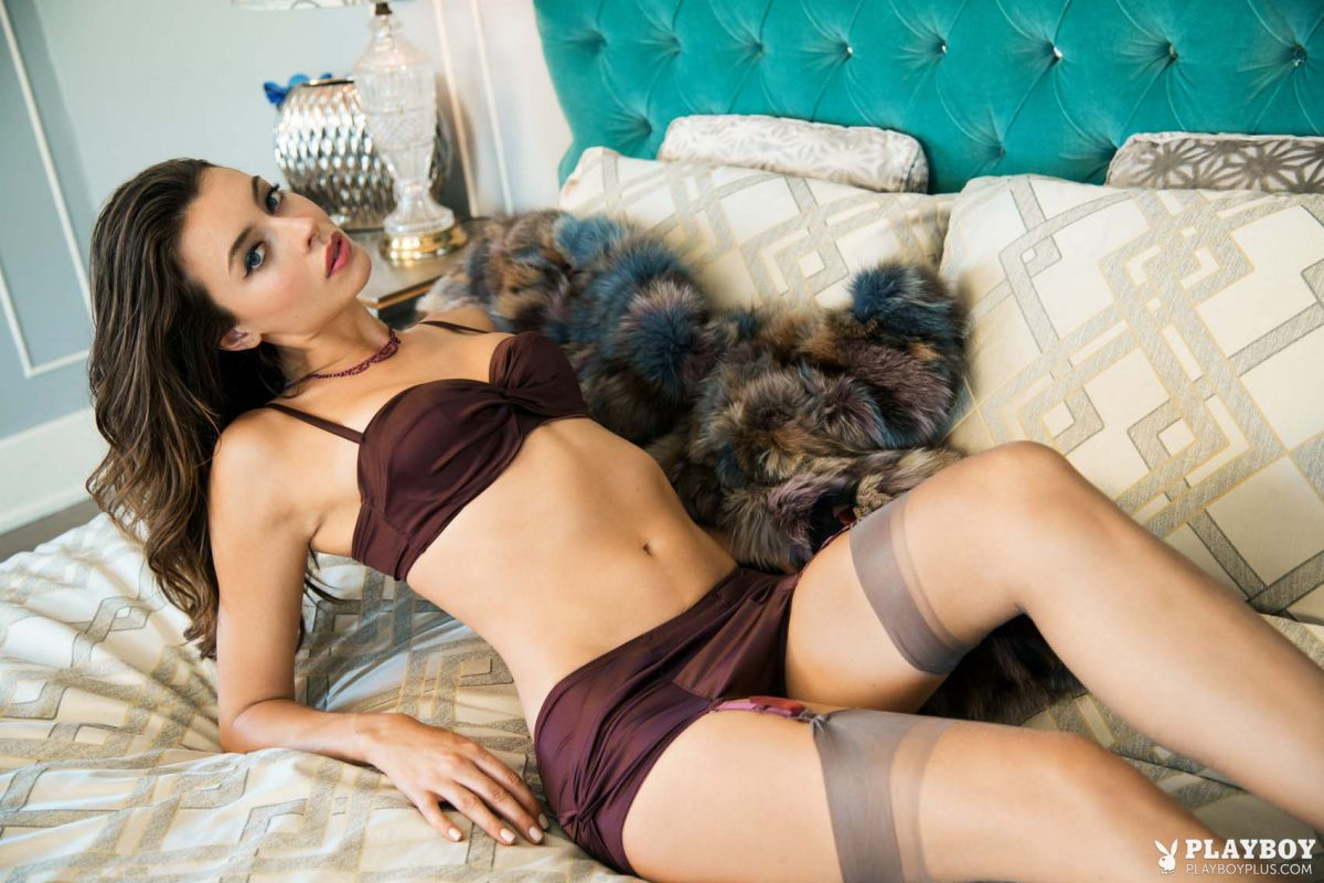 Roxanna June Playboy Playmate of the month Oct 2014