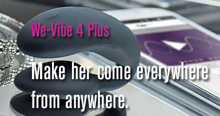 The We-Vibe 4 Plus now comes with an app. Allowing couples to connect in new, exciting ways — whether they're in the same room or on a different continent.