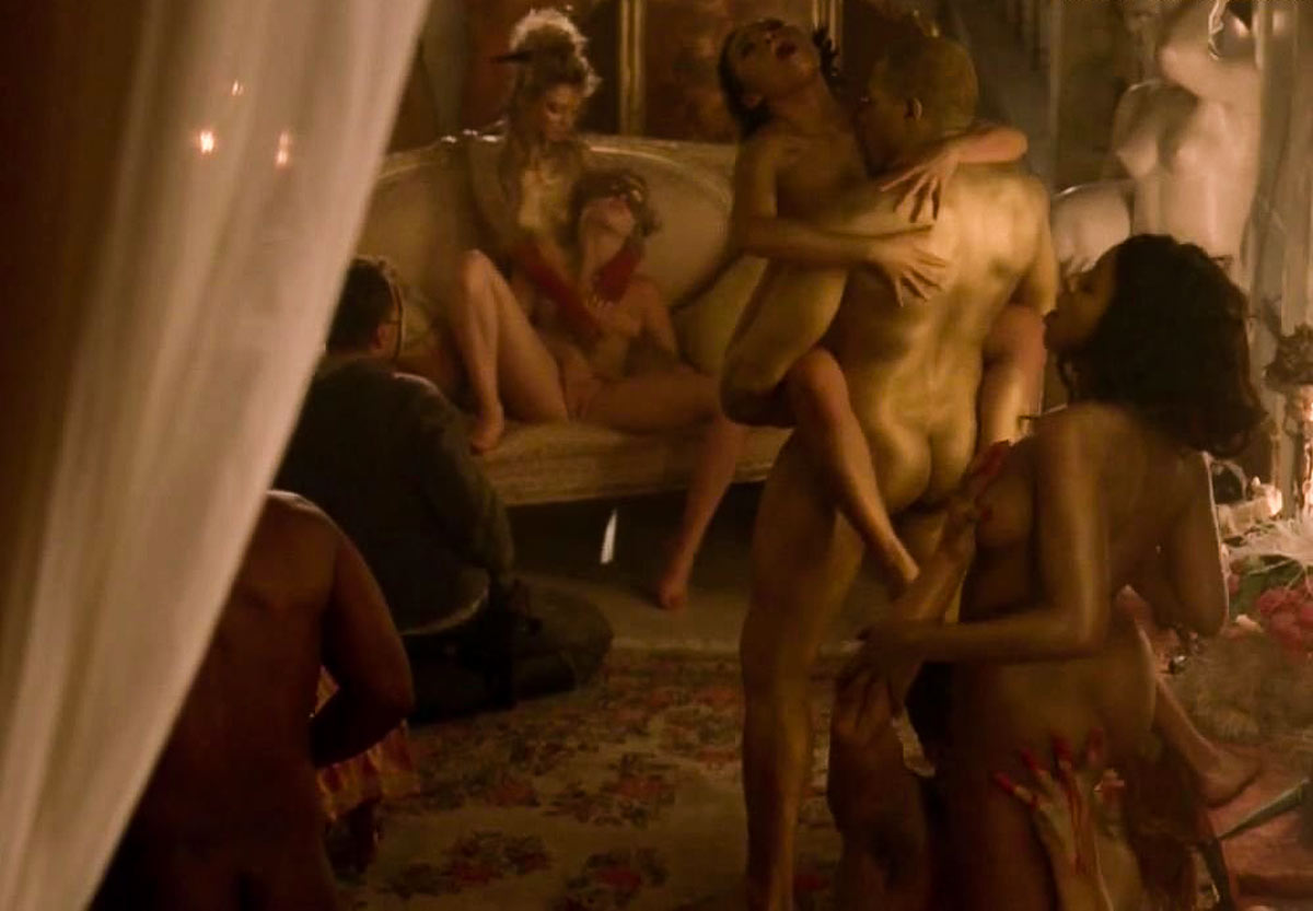 Top 10 nude scenes 2016 | Westworld Orgy Scene (various actresses) featuring Evan Rachel Wood naked.
