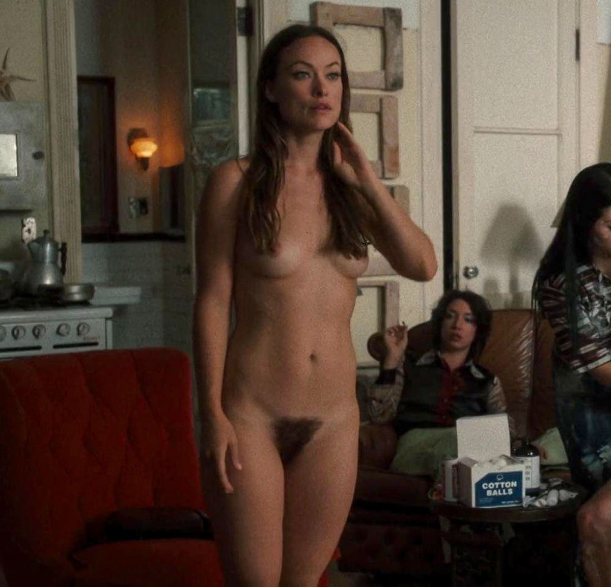 Top 10 nude scenes 2016 | Olivia Wilde naked in the movie Vinyl.