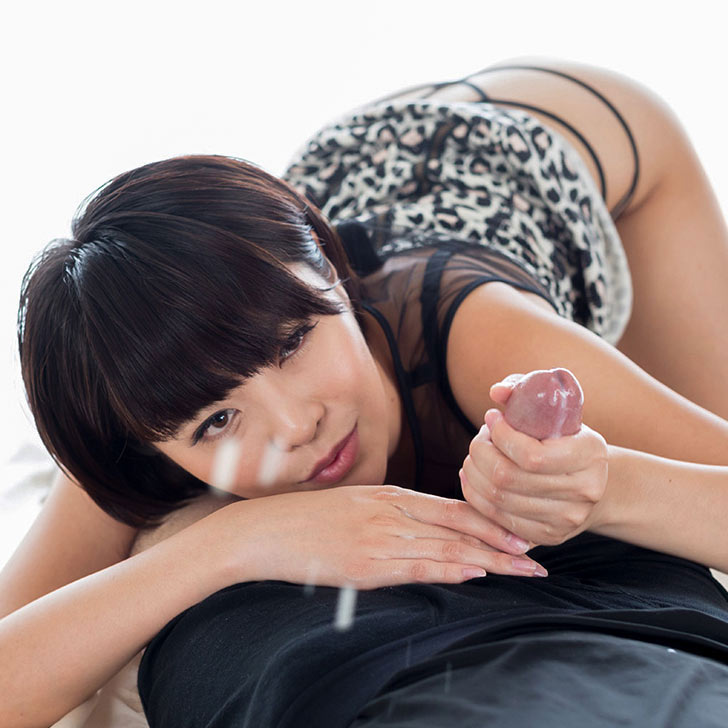 HandjobJapan. Nude Japanese AV Idol Mai Miori stroking a cock in an uncensored handjob video at Handjob Japan.