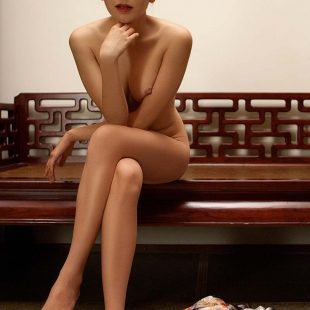 A beautiful lady from Beijing, China shows all.