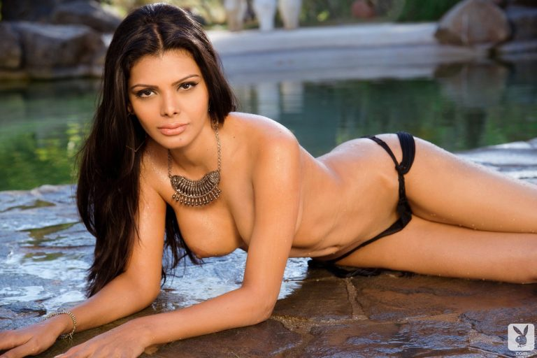 Sherlyn Chopra nude and uncensored for Playboy