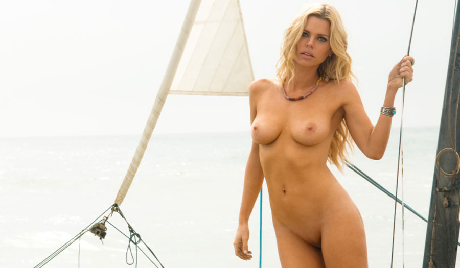 Sophie Monk nude for Playboy. The Australian actress Sophie Monk goes naked at the beach in Bohemian Rhapsody, photographed by Sasha Eisenman.