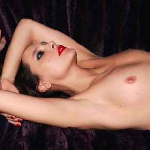 Virginie Ledoyen nude by Terry Richardson for Lui magazine.