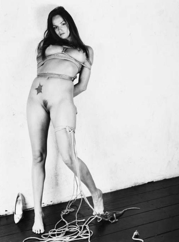 Tori Black nude bondage by Nobuyoshi Araki