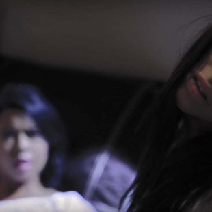 still from The Turning, a Lesbian horror video at girlsway