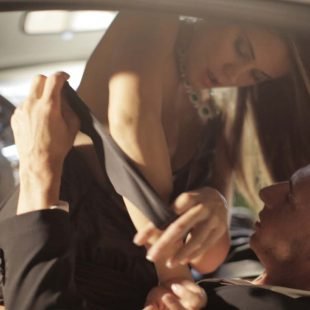 Caprice and Marcello Bravo are Dressed To Thrill.