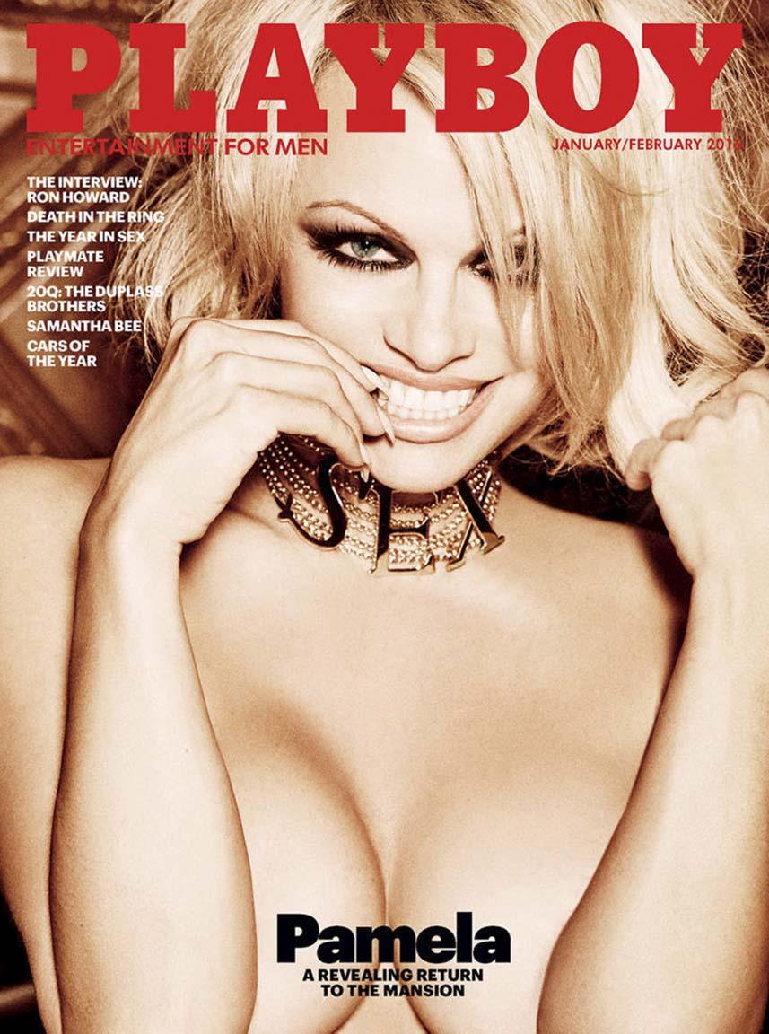 Pamela Anderson The last nude PLayboy Playmate. Photo by Ellen von Unwerth