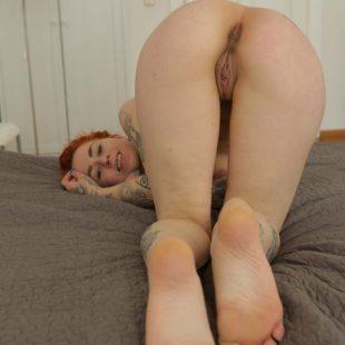 Frieda, naked fun at  Ersties.