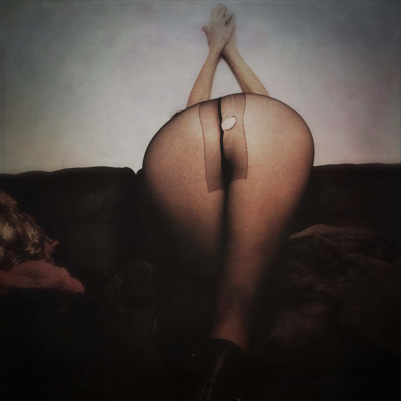 A nude self-portrait by