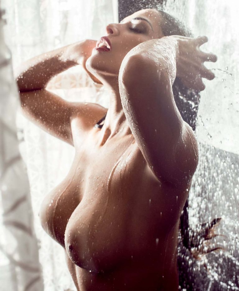 Nuelle Alves nude in Playboy Brazil