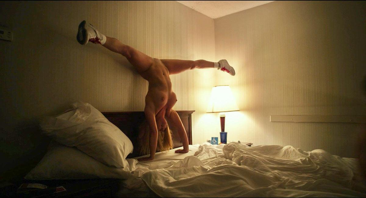 Top 10 nude scenes 2016 | Michelle Derstine, body double for Melissa Rausch, in The Bronze.