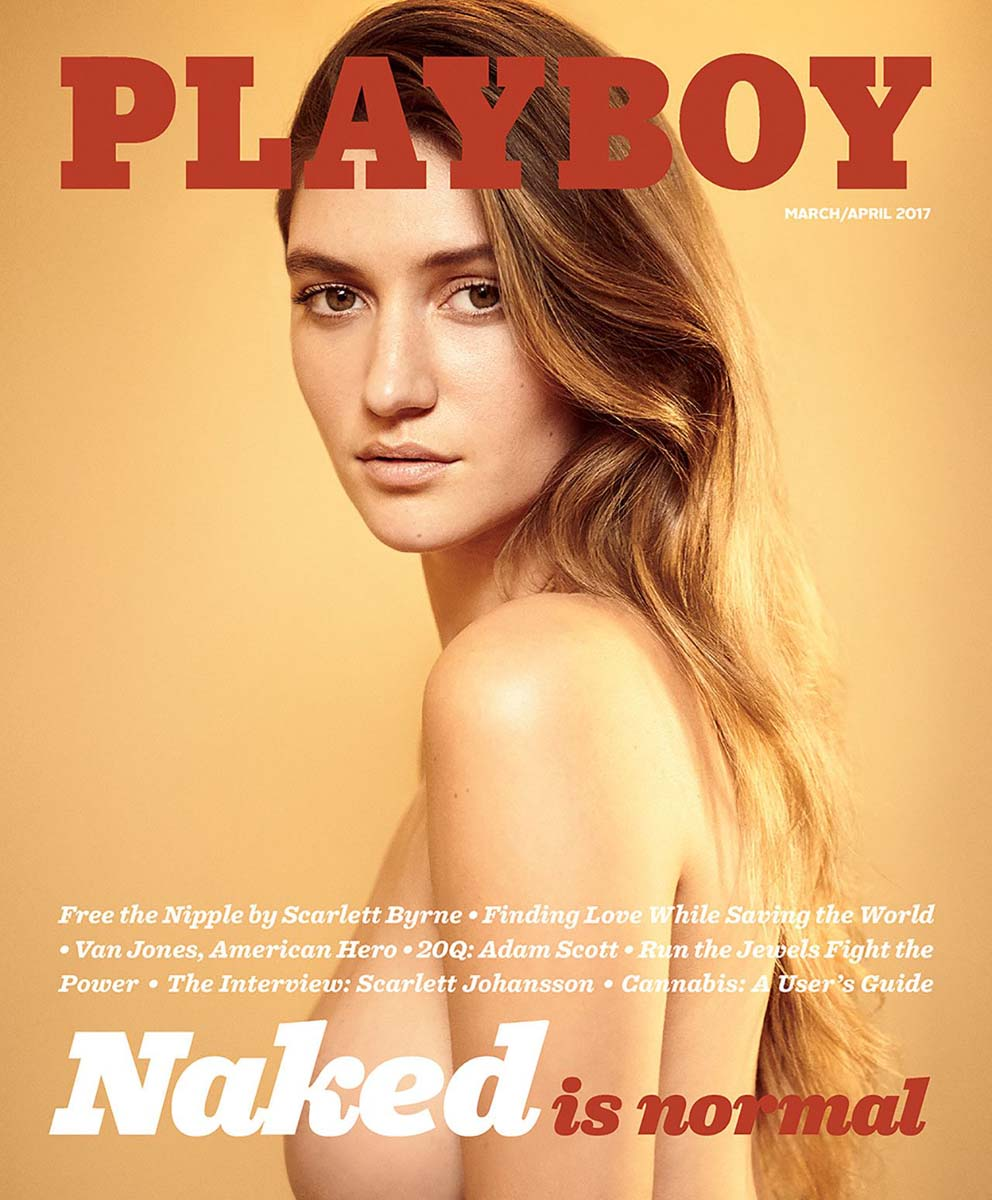 Elizabeth Elam, nude Playmate in Playboy Magazine March 2017