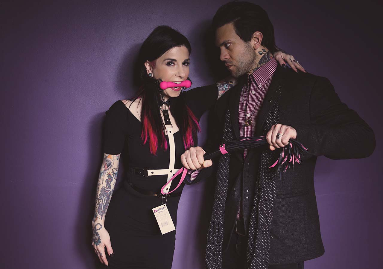 Sex toys of pornstars. Joanna Angel and Small Hands by Nikki Hearts.