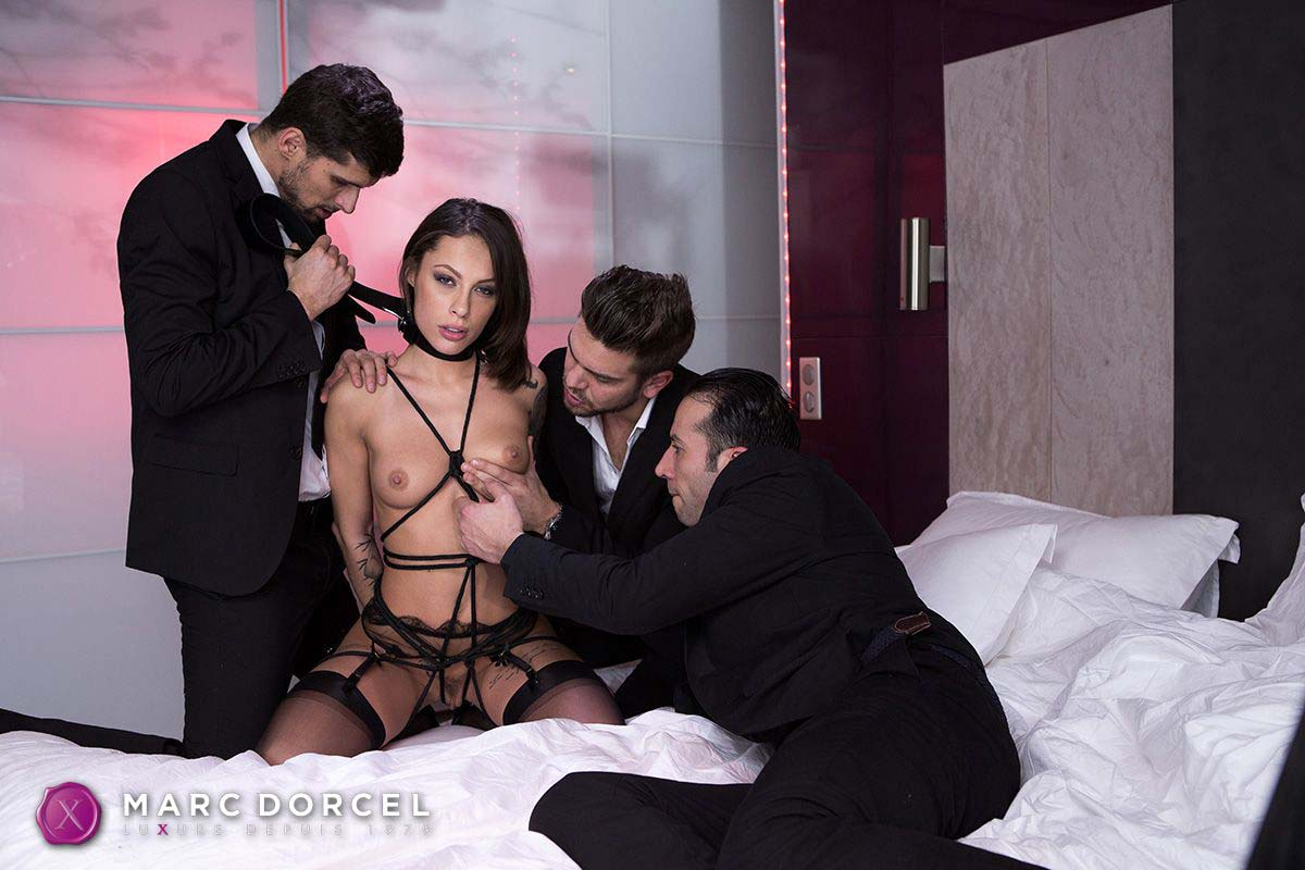 Luxure l'epouse parfaite, the perfect wife, a video from marc dorcel studios. Nikita Bellucci nude.