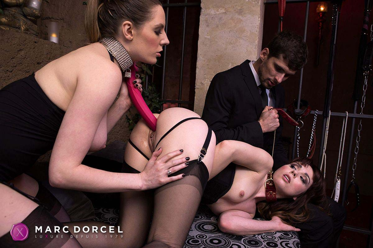 Luxure l'epouse parfaite, the perfect wife, a video from marc dorcel studios. Ariel Rebel and Sam Bentley nude.