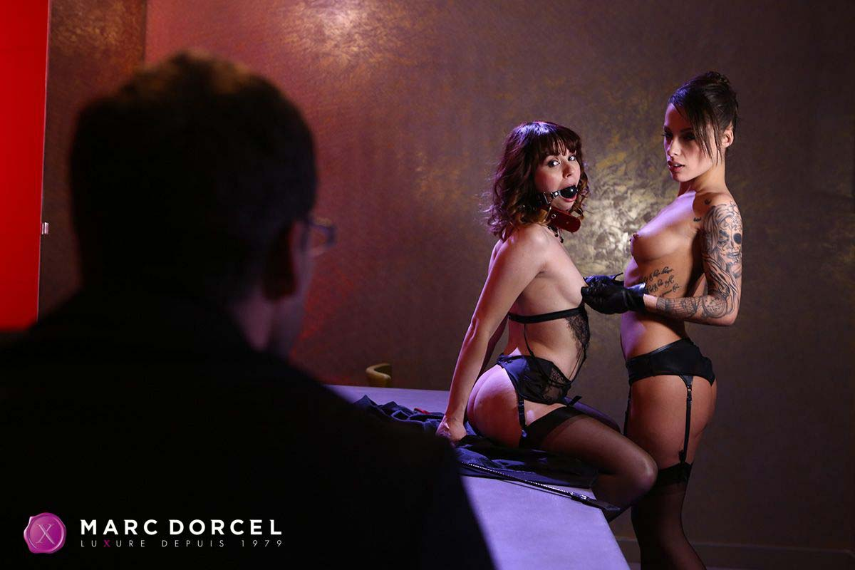 Luxure l'epouse parfaite, the perfect wife, a video from marc dorcel studios. Ariel Rebel and Nikita Bellucci nude.