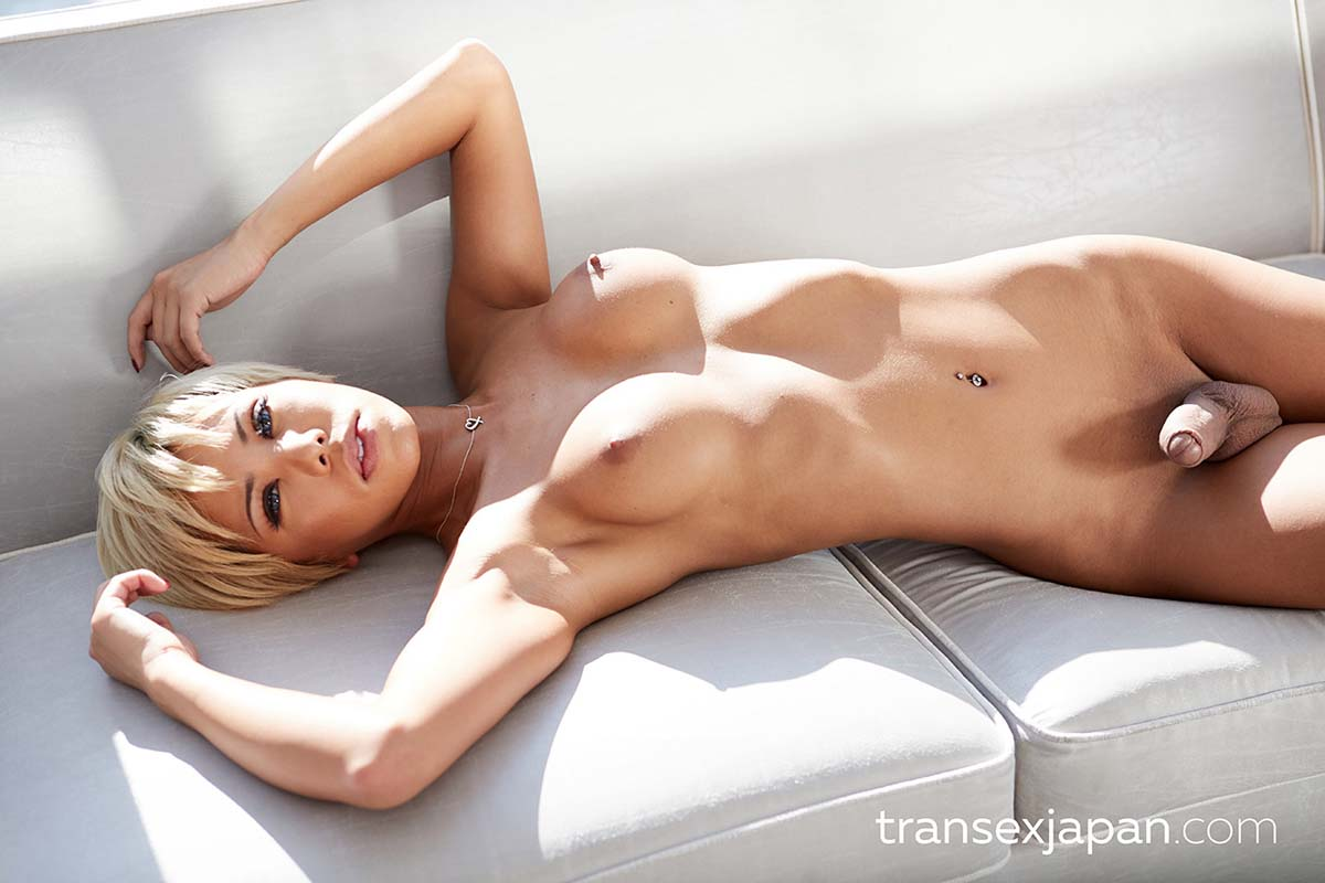 TranSex Japan. Miran, nude newhalf in an uncensored japanese Shemale video from transexjapan.