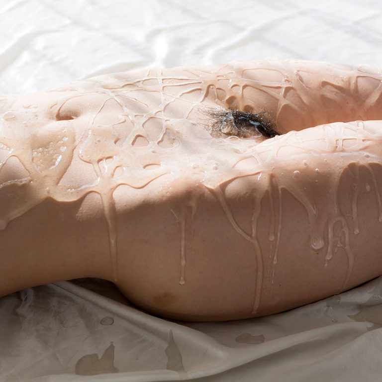 Liquid Masturbation, Japanese AV Idol Shino Aoi nude in an uncensored video at Legs Japan.
