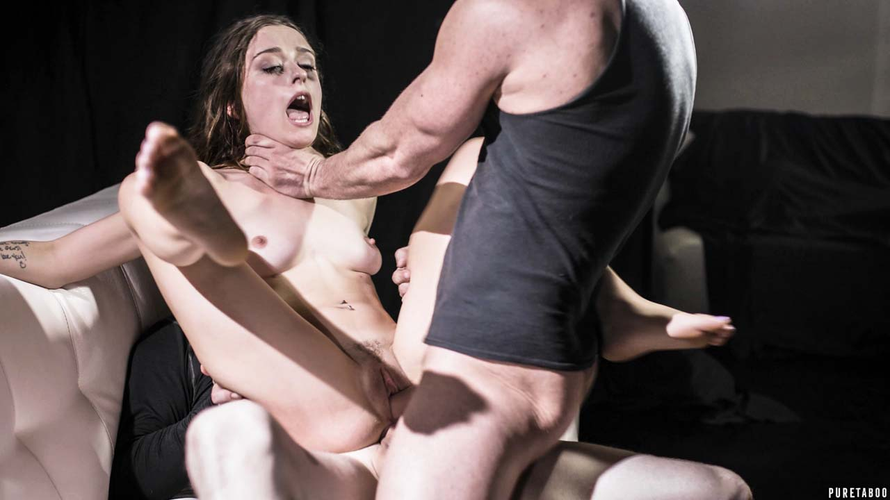 Ransom by pure Taboo studio. Lily Glee endures anal sex and double-penetration in this family porn video.