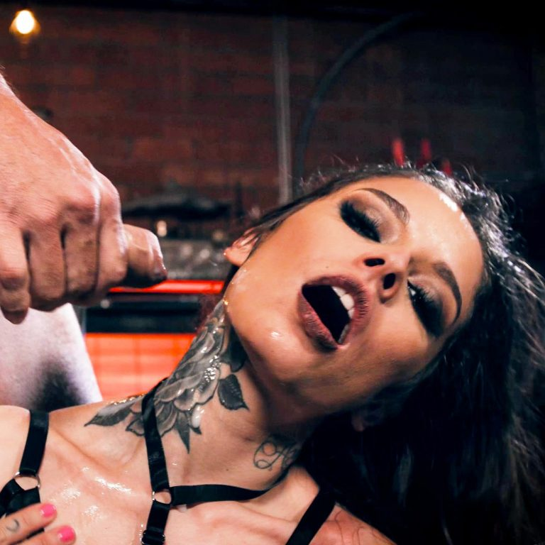 Vanessa Vega and Ramon Nomar in Cum on my tattoo. A Burning Angel alt porn fetish video.