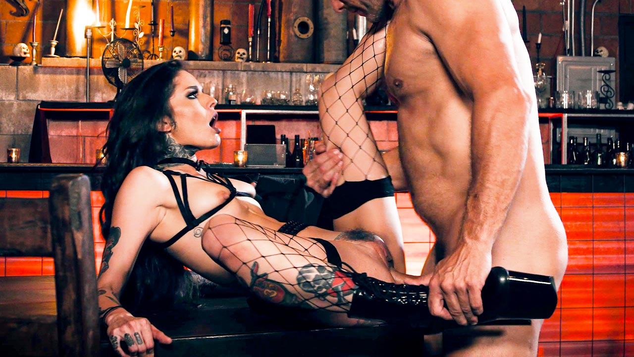 Vanessa Vega and Ramon Nomar in Cum on my tattoo. A Burning Angel alt porn fetish video.